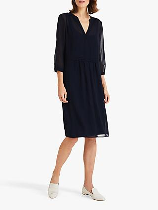 Phase Eight Remee Chiffon Dress, Navy