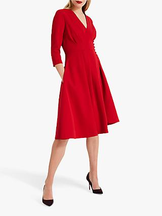 Phase Eight Tania Coat Dress, Scarlet