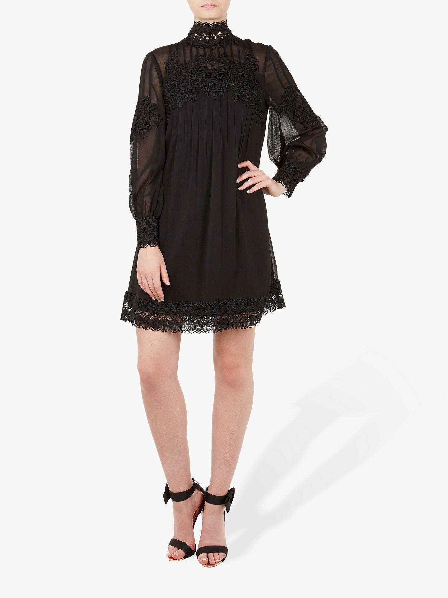 96bc07c7e99a Buy Ted Baker Anneah Lace Detail Tunic Dress