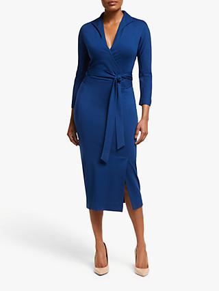 d6ba5499e0 Winser London Wrap Pencil Dress