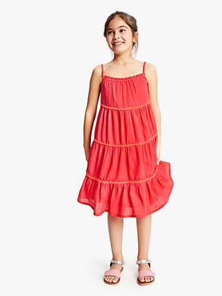 01414870b5 John Lewis   Partners Girls  Tiered Dress