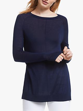 e795458c934 John Lewis   Partners Raglan Sleeve Crew Neck Sweater
