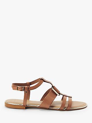 381bfe83ef37 John Lewis   Partners Lacey Metal Detail Flat Sandals