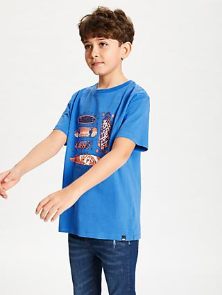 Animal Boys' Printed T-Shirt, Blue