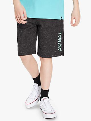 Animal Boys' Shorts, Black