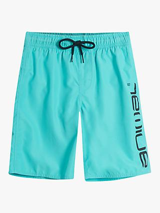 Animal Boys' Swimming Shorts, Blue