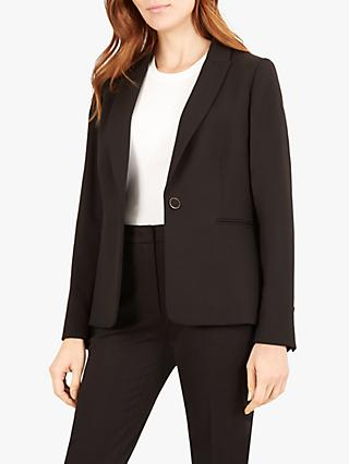 Jaeger Classic Tailored Jacket, Black