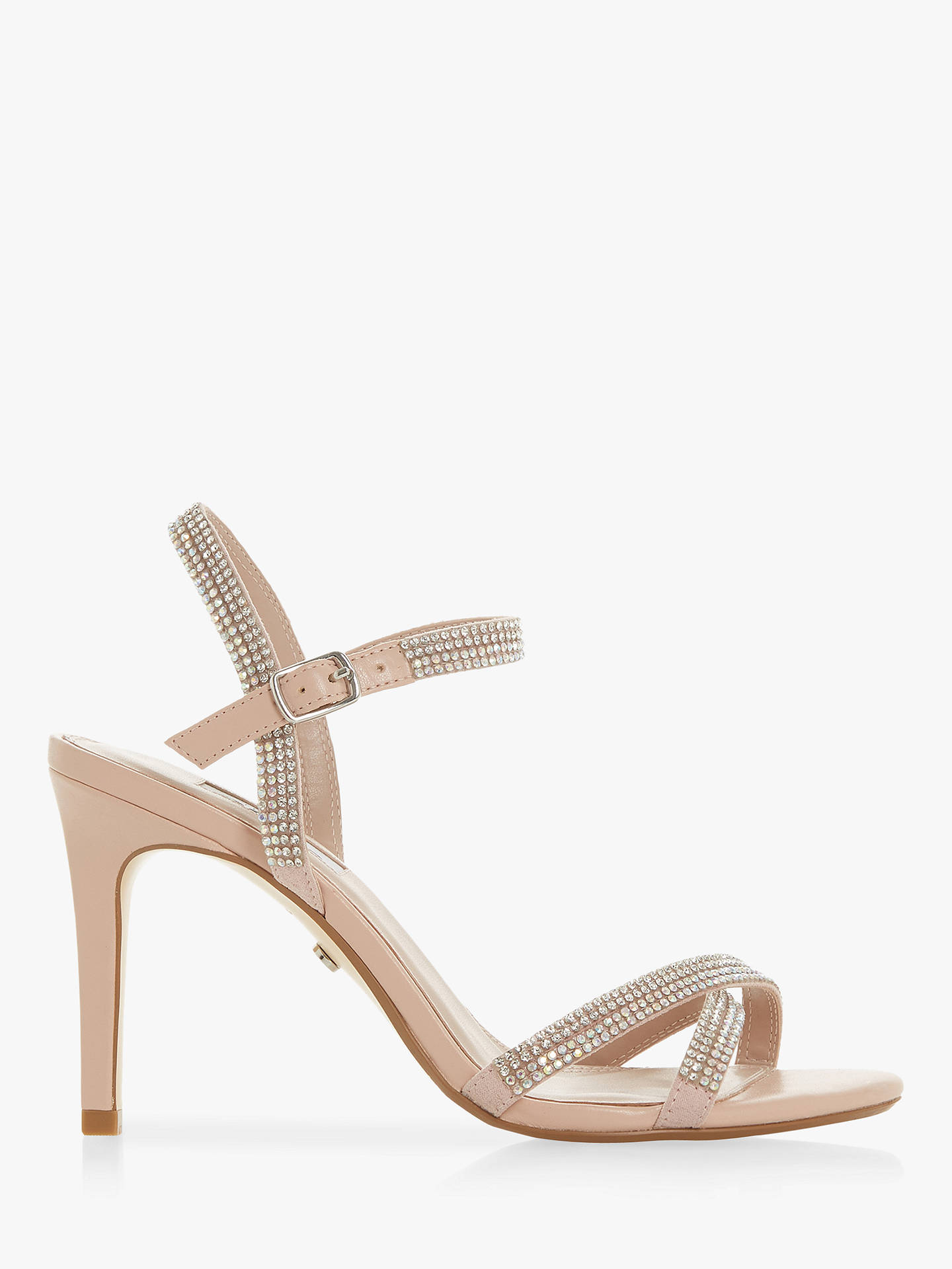825a09501642ff Dune Magdalenna Jewel Embellished Sandals at John Lewis   Partners
