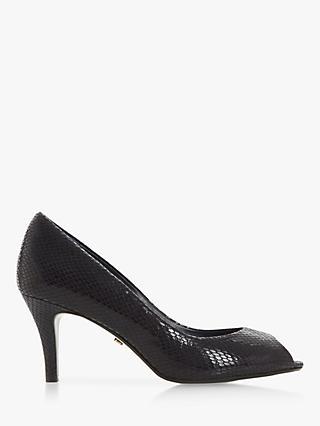 13033ad68eb Dune Cherrice Open Toe Court Shoes