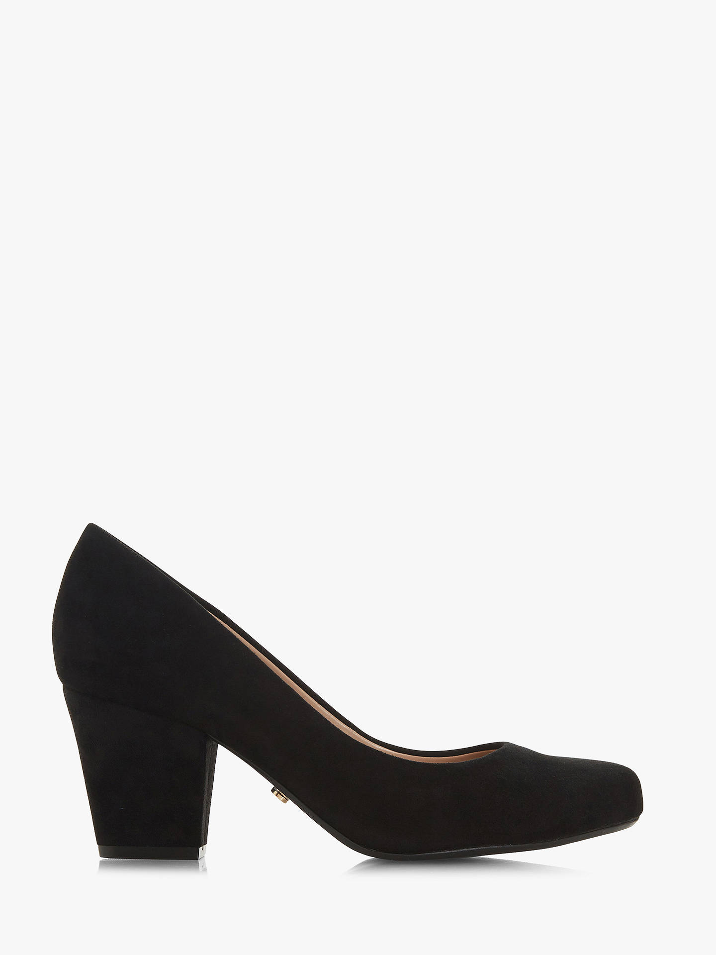 7363cdf1e01 Dune Anthena Block Heel Court Shoes at John Lewis   Partners
