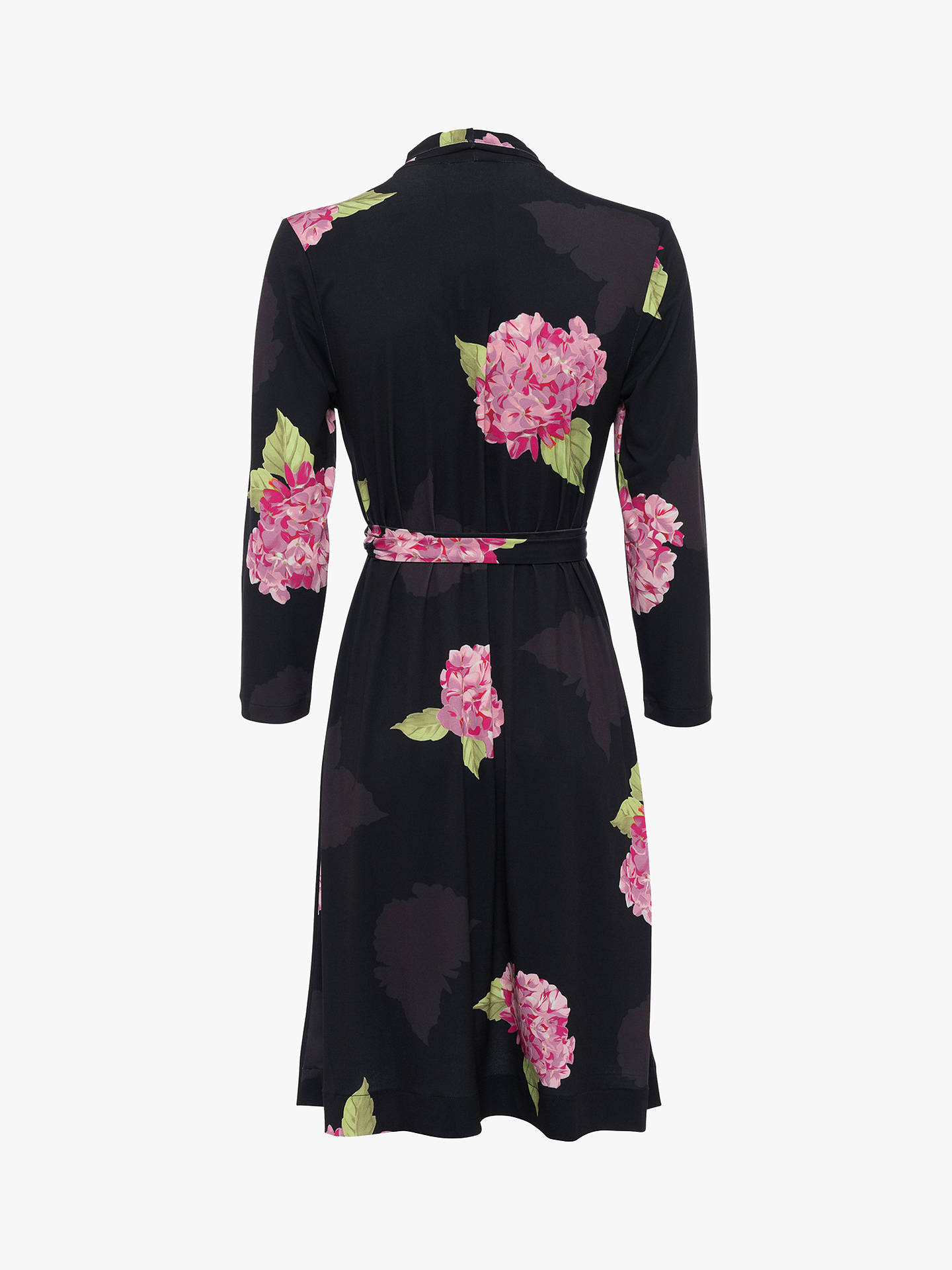 Buy French Connection Eleonore Floral Print Dress, Black/Multi, 8 Online at johnlewis.com