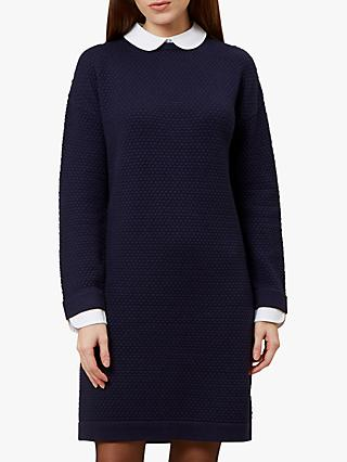 Hobbs Natalia Dress, Navy