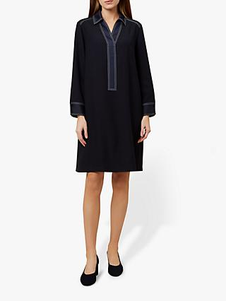 Hobbs Tora Dress, Navy