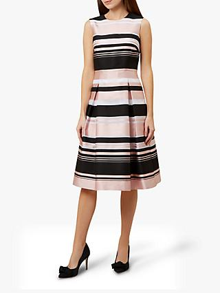 Hobbs Bridgette Dress, Pink/Multi