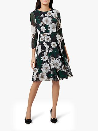 Hobbs Aurelie Floral Dress, Multi