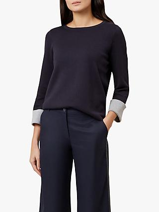 Hobbs Laura Jumper, Navy