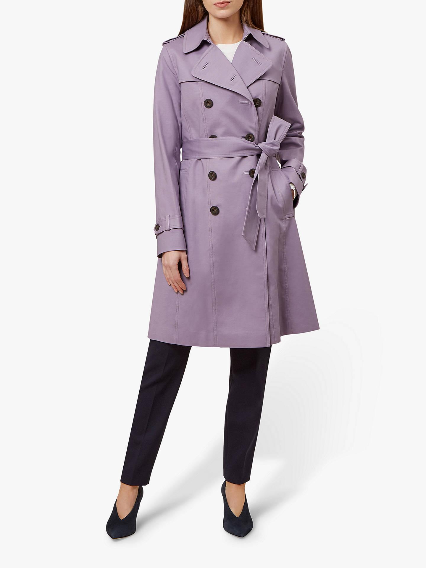 60% clearance variety design elegant shape Hobbs London Saskia Trench Coat at John Lewis & Partners