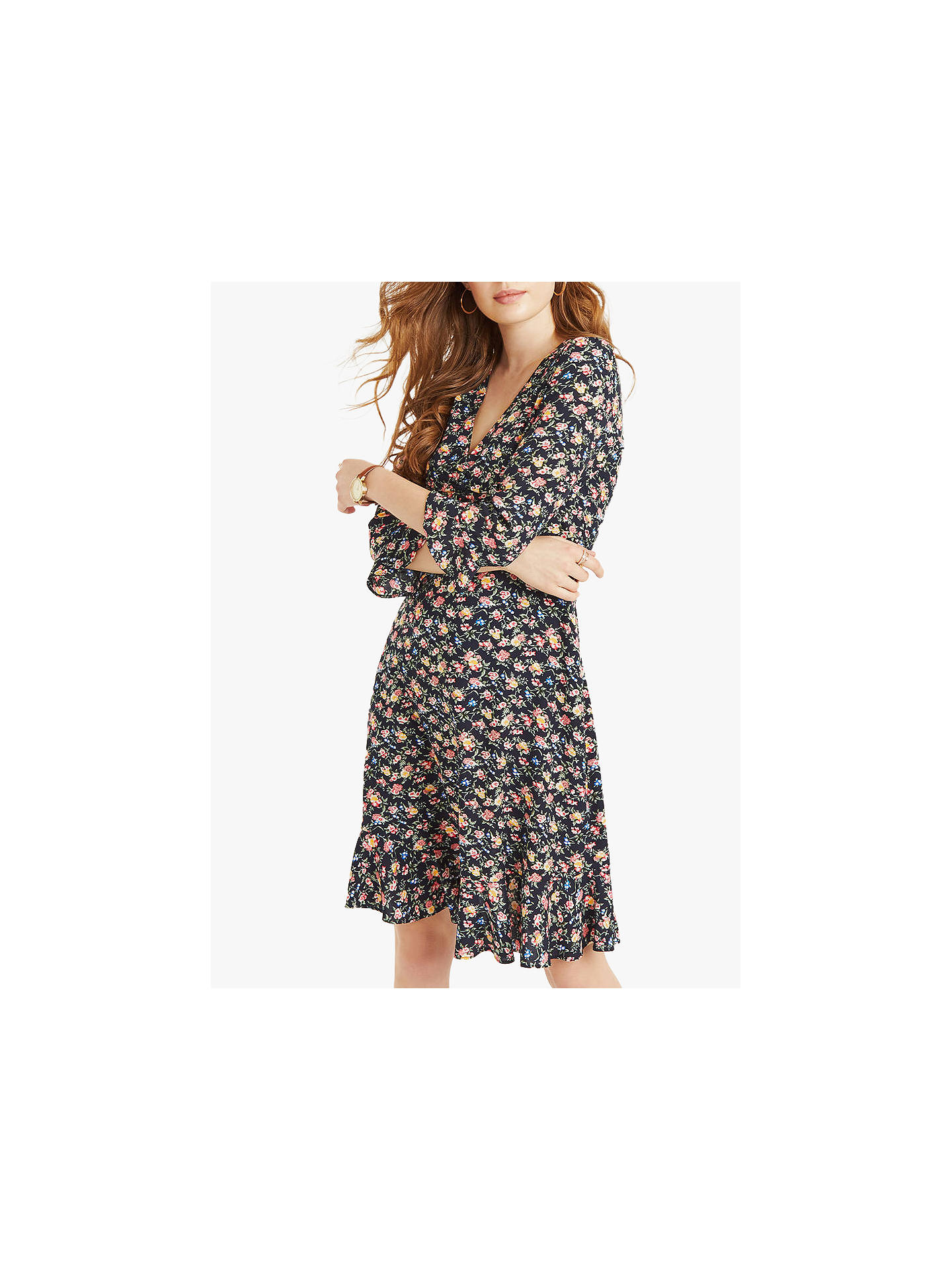 053def675ba9 Buy Oasis Garden Ditsy Skater Dress, Multi, 6R Online at johnlewis.com ...