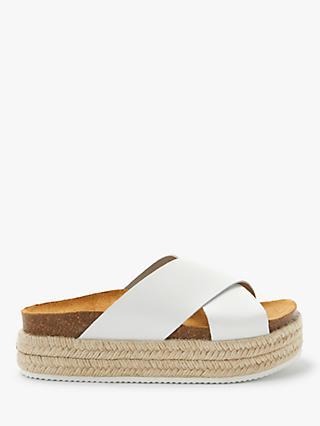 c574050e0ad John Lewis   Partners Designed for Comfort Kay Cross Strap Flatform Sandals