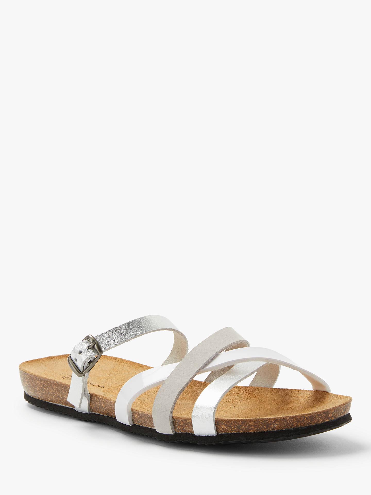 2b5c38d13064 John Lewis   Partners Lois Open Toe Flat Sandals at John Lewis ...