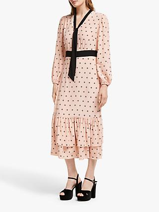 Somerset by Alice Temperley Star Ruffle Dress, Blush Pink