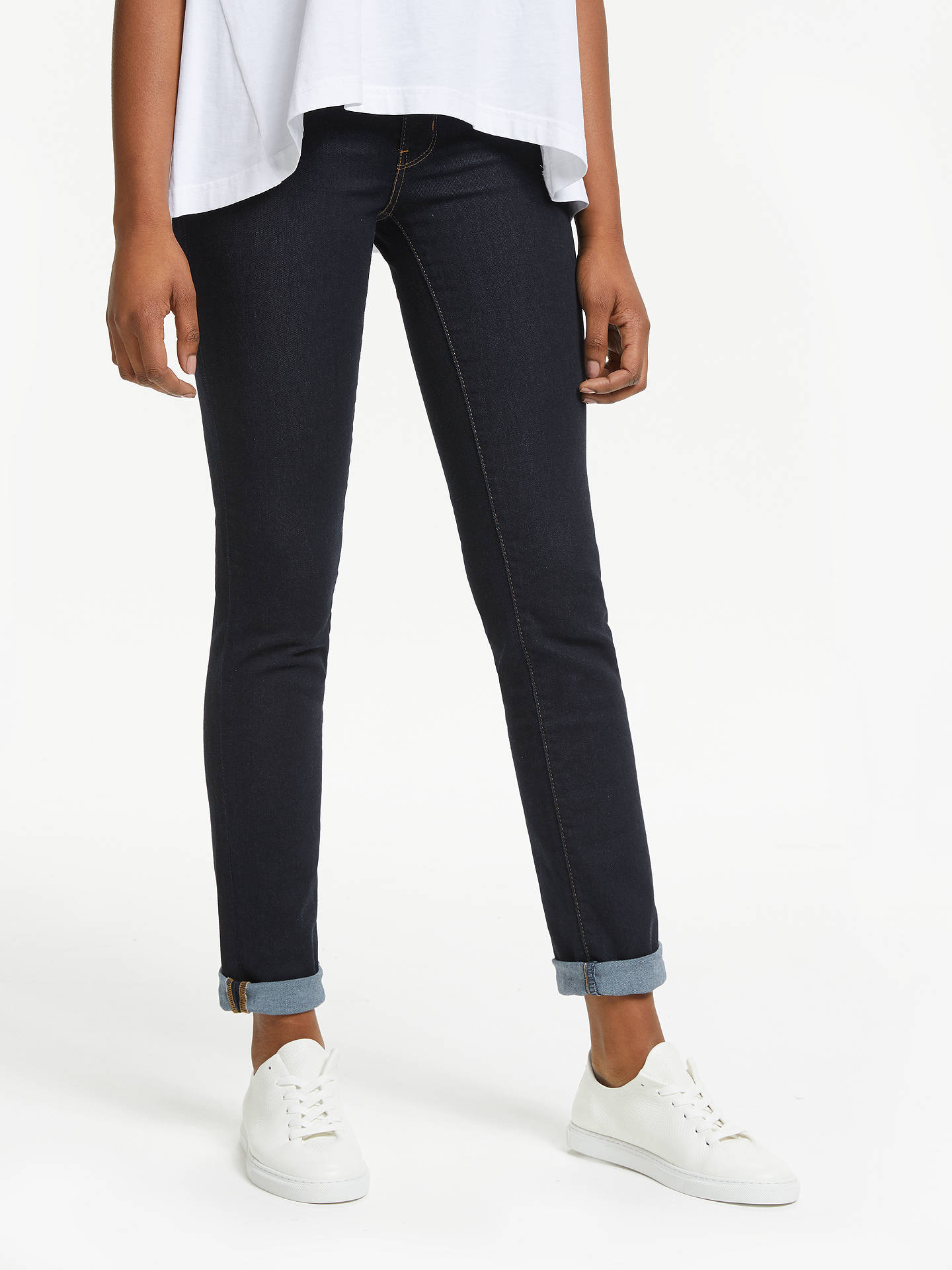 0524a440 Levi's 712 Mid Rise Slim Jeans, To The Nine at John Lewis & Partners