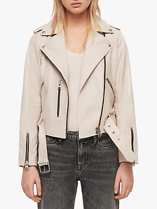 052c126431e AllSaints Balfern Leather Biker Jacket