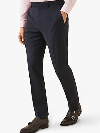 Reiss Wander Slim Fit Suit Trousers, Navy