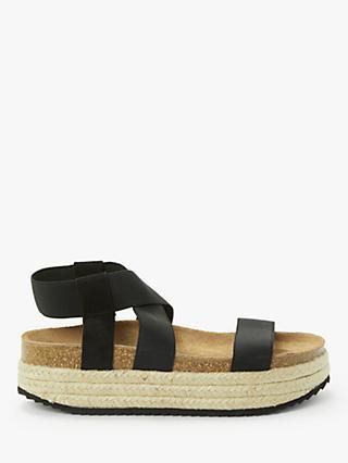 5186baf2071c Kin Lena Elasticated Flatform Espadrille Sandals