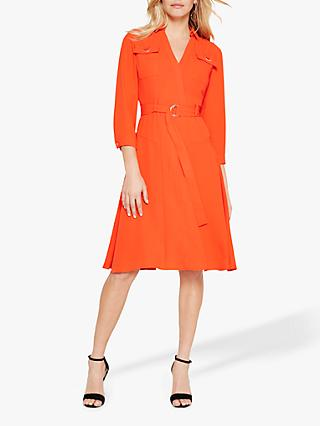 Damsel in a Dress Ennis Long Sleeve Dress, Orange