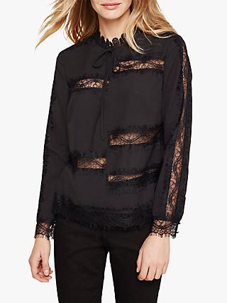 Damsel in a Dress Jeni Lace Blouse, Black