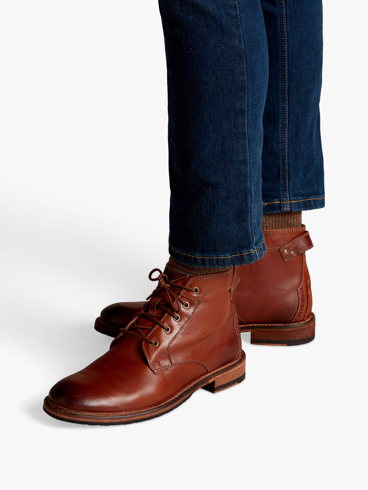 Clarks Clarkdale Bud Leather Boots