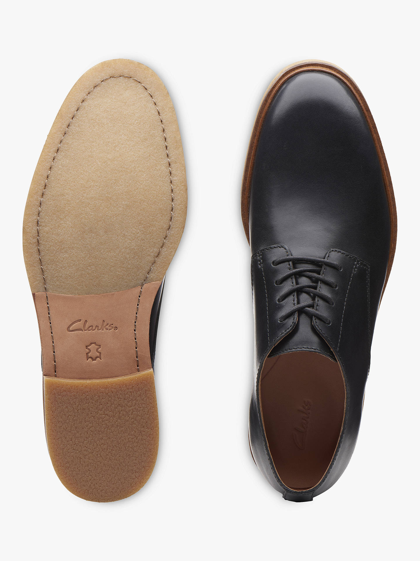 f9a439f2f8ac Clarks Clarkdale Moon Leather Derby Shoes at John Lewis   Partners