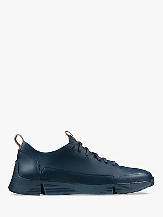 Clarks Tri Spark Leather Trainers