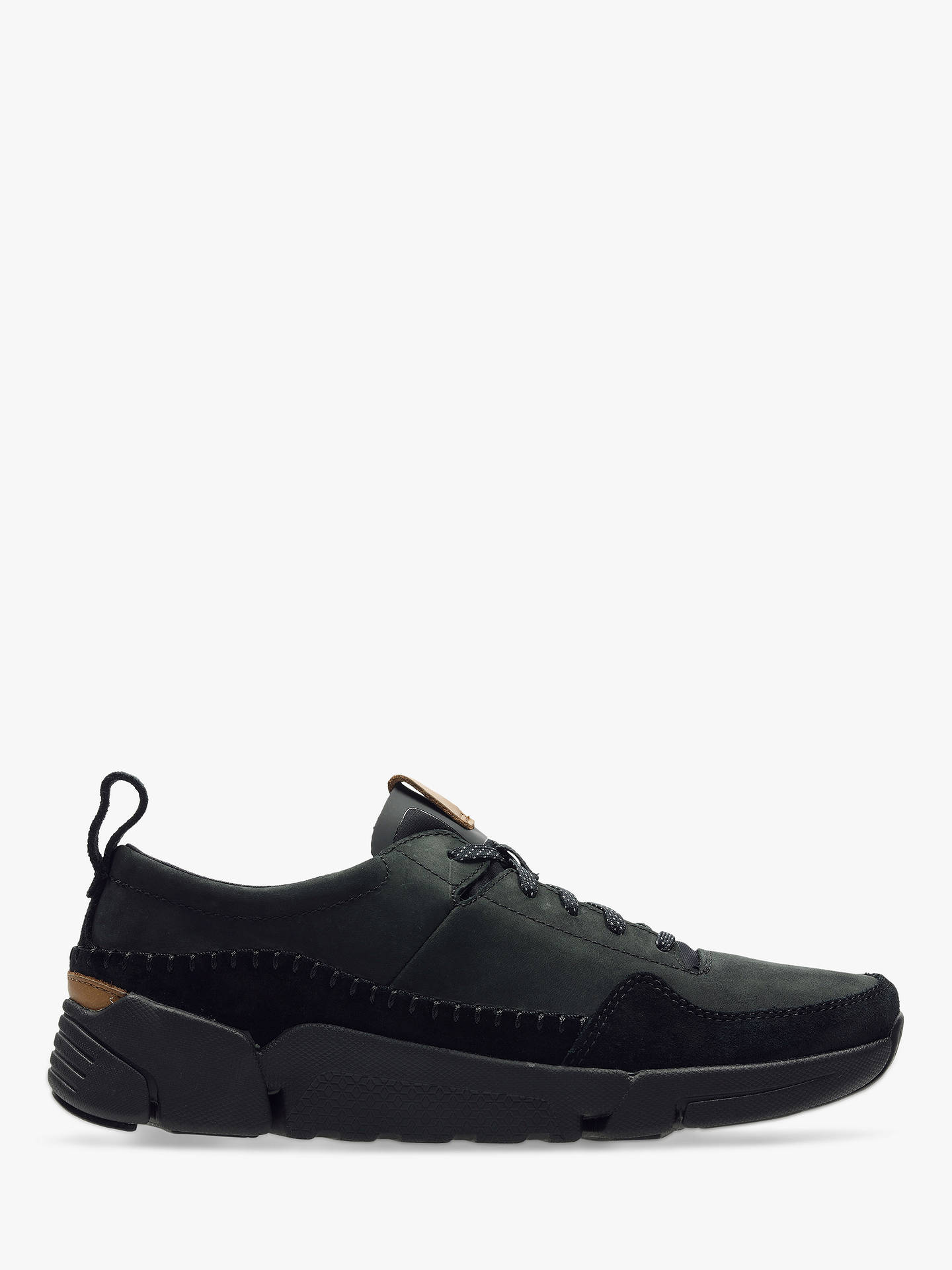 7c5ef7da0a9 Clarks TriActive Run Leather Trainers at John Lewis   Partners