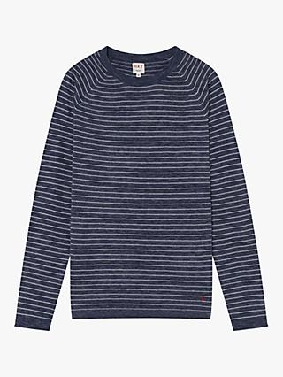 HKT Cotton Striped Sweater