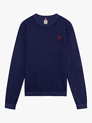 e9f92276d Hackett London Garment Washed Crew Neck Sweatshirt