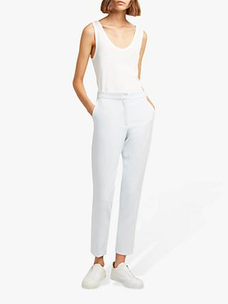French Connection Sundae Tailored Trousers, Cool Dream Blue