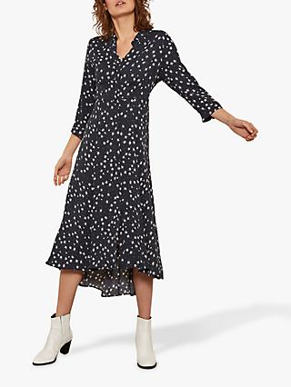 a49986dd41a7 Mint Velvet Star Print Shirt Dress