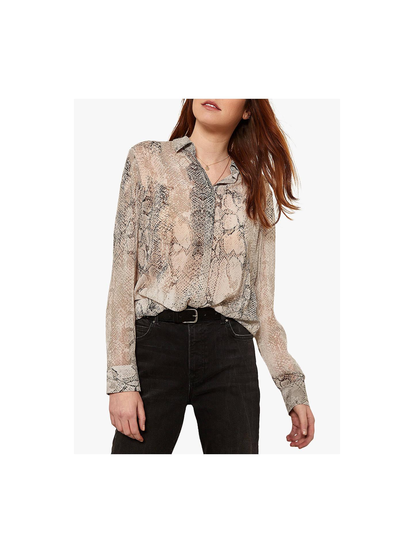 06cd4faa1f28a Buy Mint Velvet Sasha Snake Print Shirt