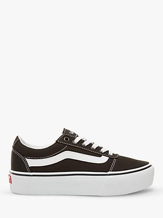 Vans Ward Lace Up Flatform Trainers