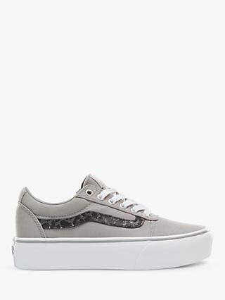 a972be5fa08 Vans Ward Lace Up Platform Trainers