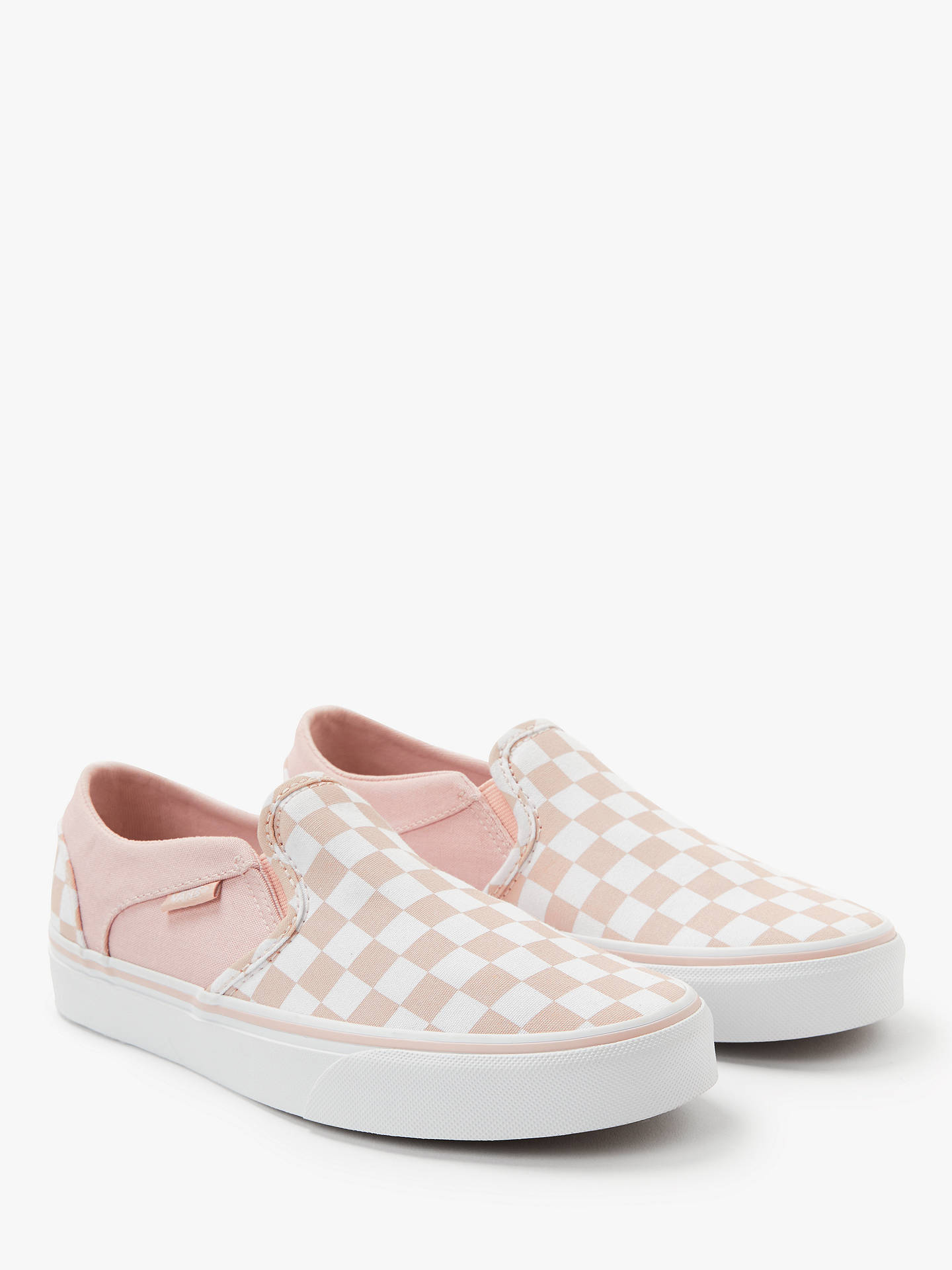 vans slip on asher rose