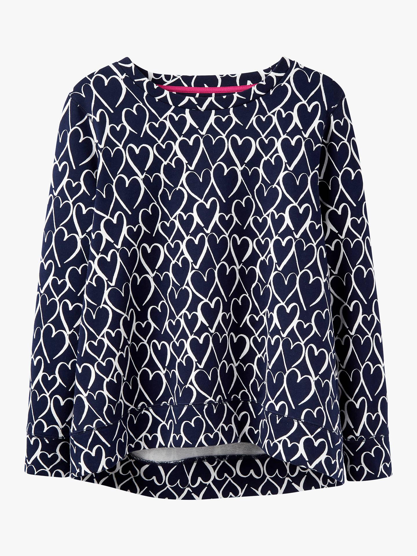 8797f28de9b845 Buy Joules Ellen Heart Print Sweatshirt