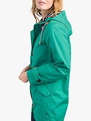 Joules Coast Mid Waterproof Jacket, Green
