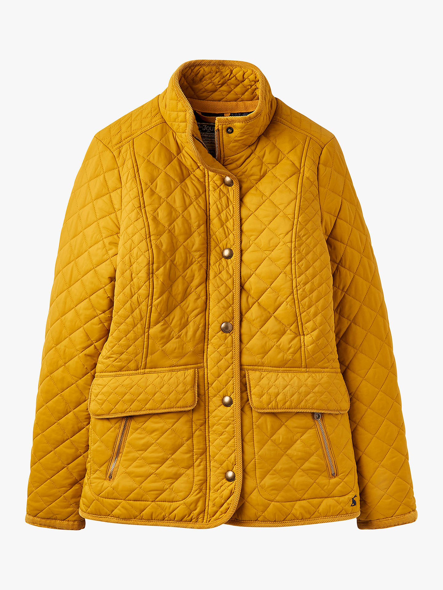 450c83555 Joules Newdale Quilted Coat, Caramel at John Lewis & Partners