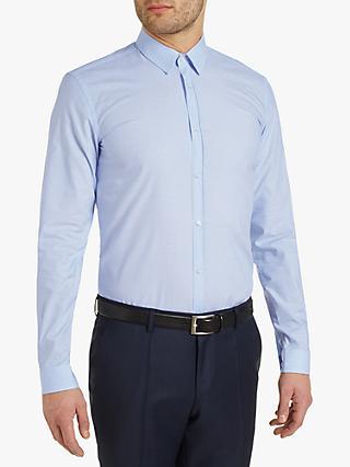 4e32e067e HUGO by Hugo Boss Slim Fit Keyes Diamond Shirt, Light Blue