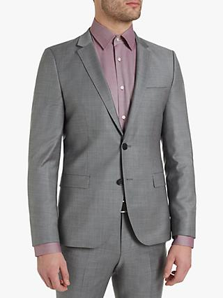 db3785224 HUGO by Hugo Boss Arti182 Birdseye Wool Super Slim Suit Jacket, Grey