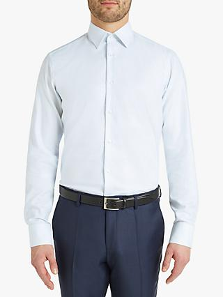 480f5fb90 HUGO by Hugo Boss Venzo Graph Check Regular Fit Shirt, White/Blue