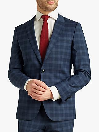 a2db88dfe HUGO by Hugo Boss Getlin Prince of Wales Check Slim Fit Suit Jacket, Navy